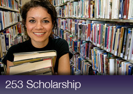 Save on Tuition with the 253 Scholarship