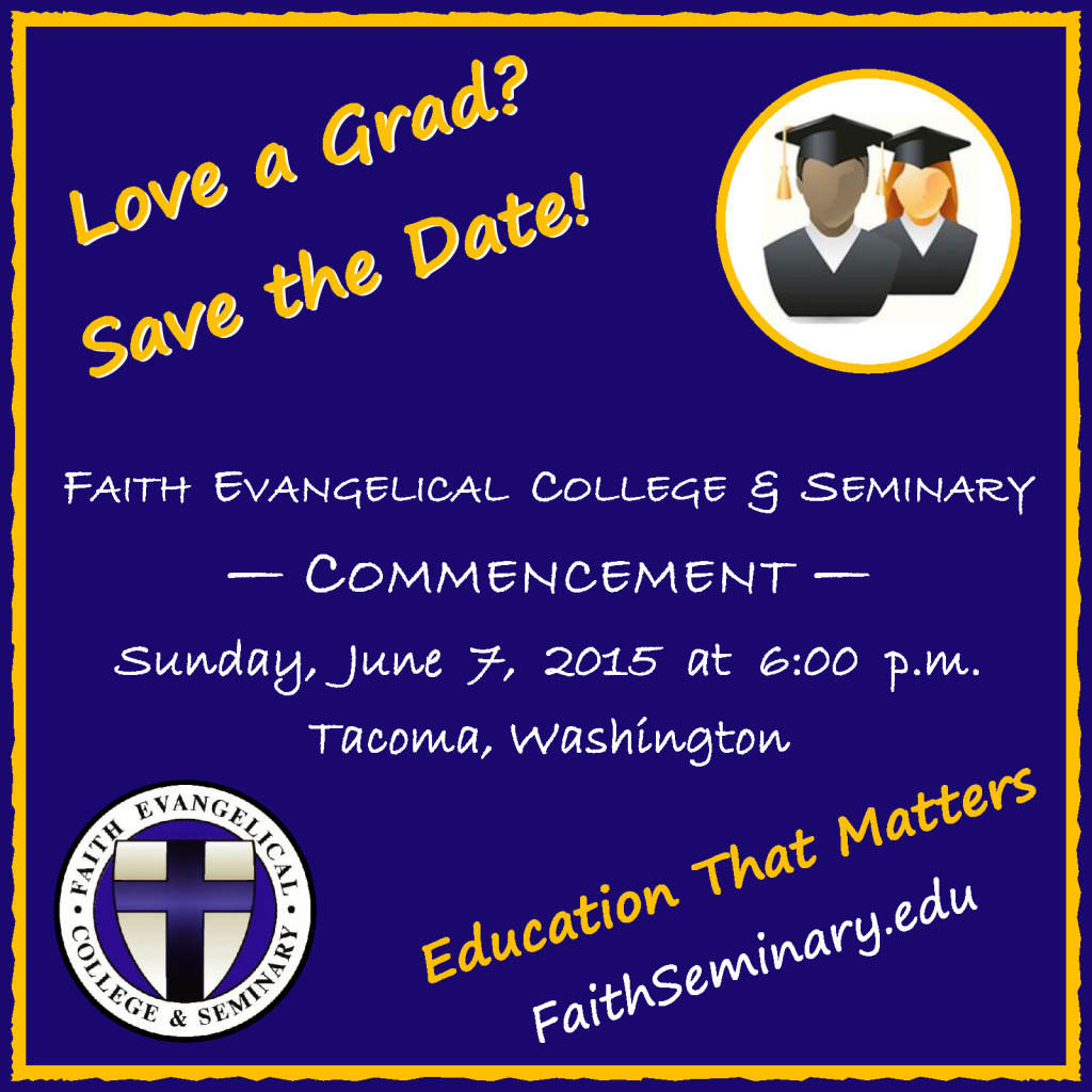 Love a Grad? Save the Date!